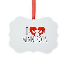 I fish Minnesota Ornament