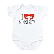 I fish Minnesota Infant Bodysuit