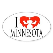 I fish Minnesota Decal