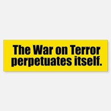 WAR ON TERROR Bumper Bumper Bumper Sticker