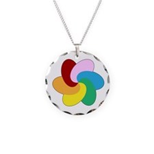Funny Swingers Necklace Circle Charm