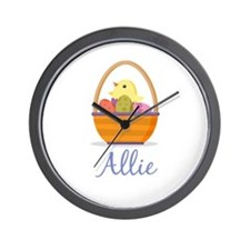 Easter Basket Allie Wall Clock