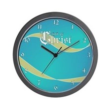 Child of Christ waves Wall Clock