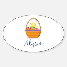 Easter Basket Alyson Decal