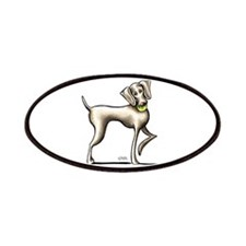 Weimaraner Tennis Patches