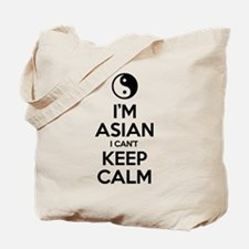 Im Asian I Cant Keep Calm Tote Bag