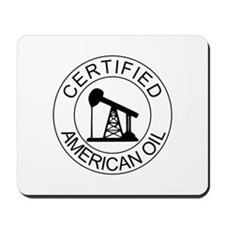 Certified American Oil Mousepad