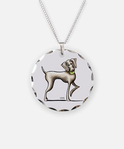 Weimaraner Tennis Necklace