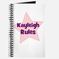 Kayleigh Rules Journal