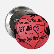 Therapy Dogs! Button