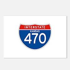Interstate 470 - KS Postcards (Package of 8)