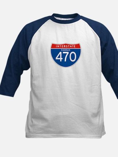 Interstate 470 - KS Kids Baseball Jersey