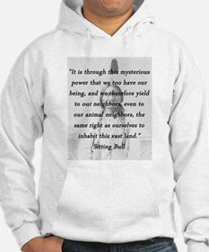 Sitting Bull - Mysterious Power Sweatshirt