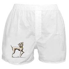 Weimaraner Tennis Boxer Shorts