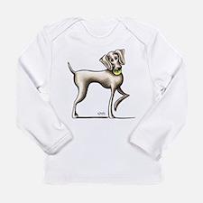 Weimaraner Tennis Long Sleeve T-Shirt