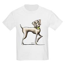 Weimaraner Tennis T-Shirt