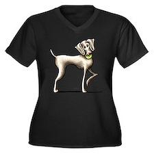 Weimaraner Tennis Plus Size T-Shirt
