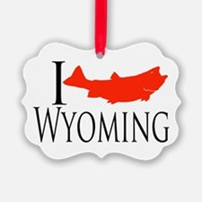 I fish Wyoming Ornament