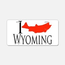 Wyoming license plates wyoming front license plate for Wyoming fishing license