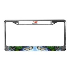 I fish Wyoming License Plate Frame