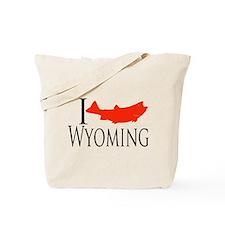 I fish Wyoming Tote Bag