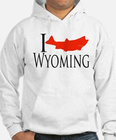 I fish Wyoming Jumper Hoody