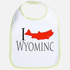 I fish Wyoming Bib