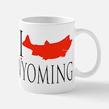 I fish Wyoming Mug