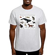 Massachusetts State Animals T-Shirt