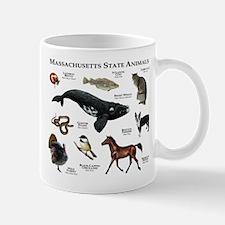Massachusetts State Animals Mug