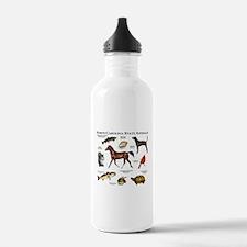 North Carolina State Animals Water Bottle