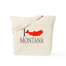 I fish Montana Tote Bag