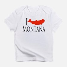 I fish Montana Infant T-Shirt