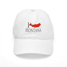 I fish Montana Baseball Cap