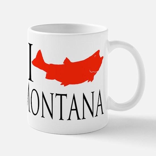 I fish Montana Mug