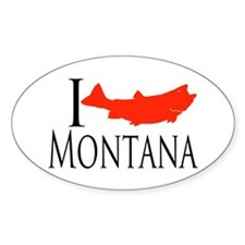 I fish Montana Decal