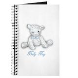 Baby boy lamb Journals & Spiral Notebooks