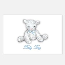 Baby Boy Lamb Postcards (Package of 8)