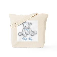 Baby Boy Lamb Tote Bag
