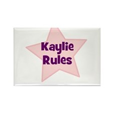 Kaylie Rules Rectangle Magnet