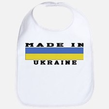 Ukraine Made In Bib