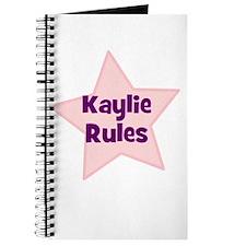 Kaylie Rules Journal