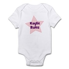 Kaylie Rules Infant Bodysuit