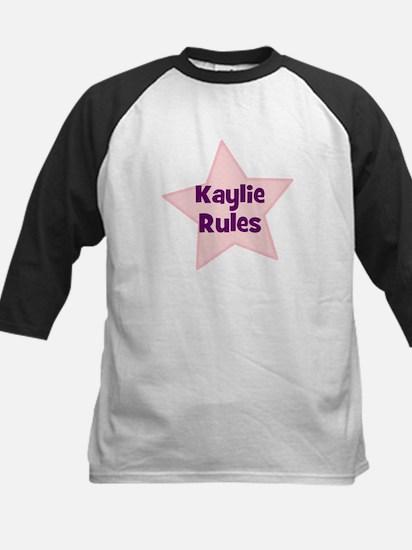 Kaylie Rules Kids Baseball Jersey