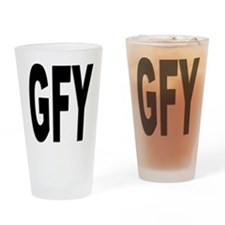 GFY Drinking Glass