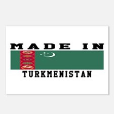 Turkmenistan Made In Postcards (Package of 8)
