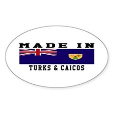 Turks Caicos Made In Decal
