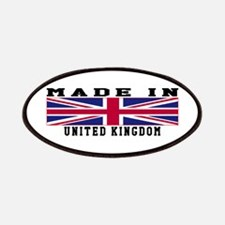 United Kingdom Made In Patches