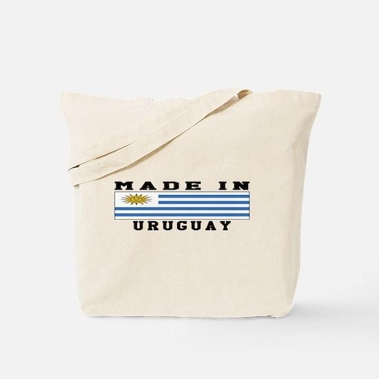 Uruguay Made In Tote Bag