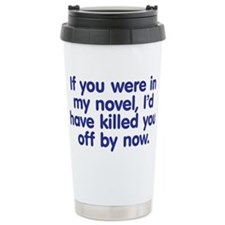 Funny Writers Travel Mug